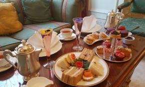 Chelsea Flower Show Afternoon Tea