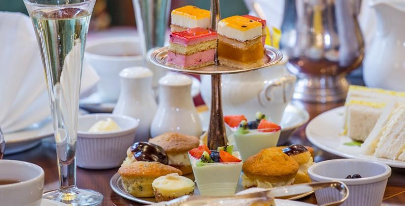 Afternoon Tea In Kensington, London